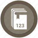 book, business, guidelines, handbook, manual icon