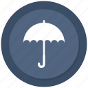 business, insurance, protection, rain, umbrella icon