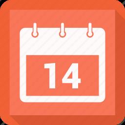 calendar, date, feb, schedule icon