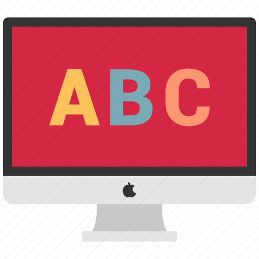 design, monitor, online, website icon