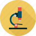 lab, microscope, research, science icon