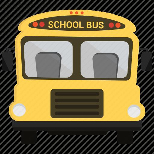 bus, school bus, transportation, travel icon