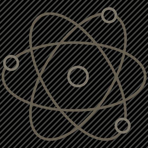 atom, laboratory, science icon