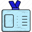 business, card, id icon