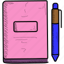document, edit, notebook, notes, paper, sheet, text icon