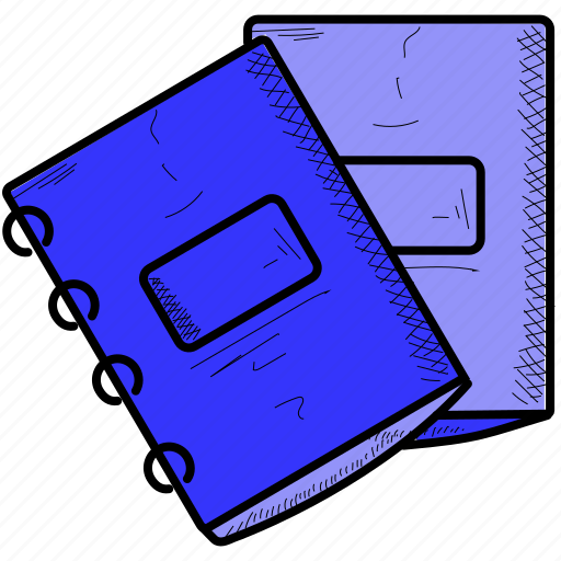 file, notebook, office icon