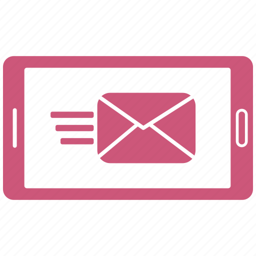 email, envelope, letter, message, mobile icon