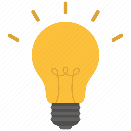 Bulb light, idea, lamp icon  Bulb light, ide...