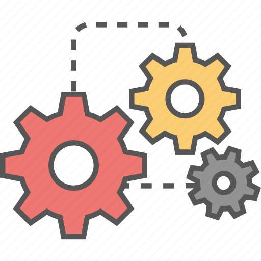 cog, configure, customize, gear, settings icon icon