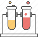 lab glassware, lab research, lab test, sample tube, test tube icon icon
