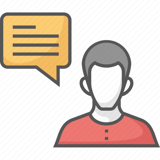 chatting, communication, consulting, speaking, talking icon icon
