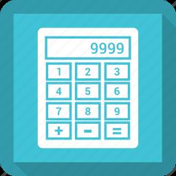 caculate, calculator, figures, mathematics icon