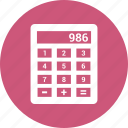 business, calculations, calculator, finance icon