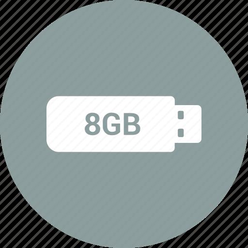 device, pen drive, usb icon