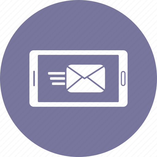 email, envelope, letter, message, mobile, online icon