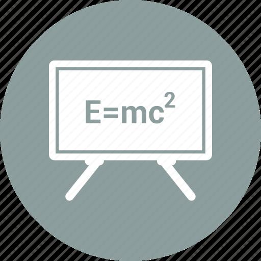 board, education, mathematics, school icon