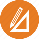 art, design, pencil, tool icon