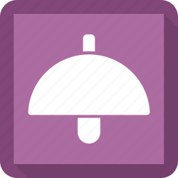 electronic, lamp, light, table lamp icon