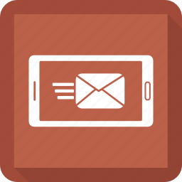 email, mail, mobile, phone, send icon