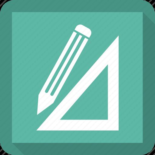 art, design, pencil, tool icon