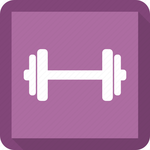 gym, weights icon