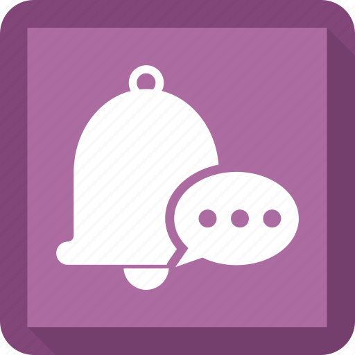 alarm, bell, chat, ring icon