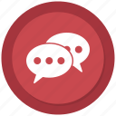 chat, connect, conversation, speak icon