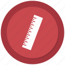measure, regua, ruler, scale, scale ruler icon