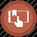 click, device, mobile, responsive, smartphone icon