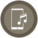 mobile music, mobile sound, music icon