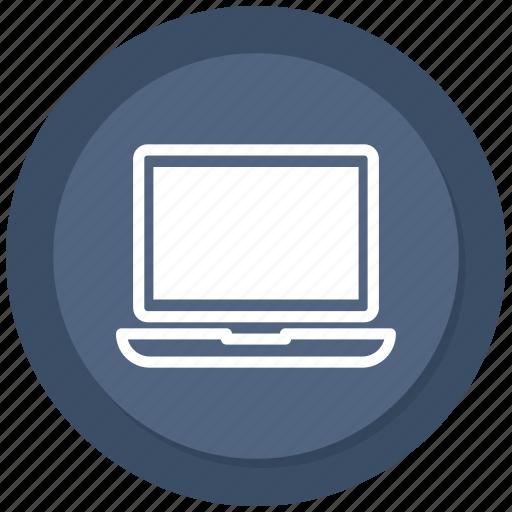 laptop, laptop pc, macbook, notebook icon