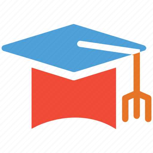 education, graduation, graduation hat, university student hat icon