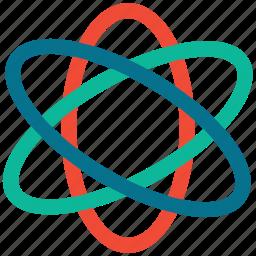 atom, chemistry, molecule, science icon