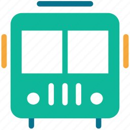 bus, school bus, transport, travel icon