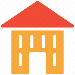 building, home, house, hut icon