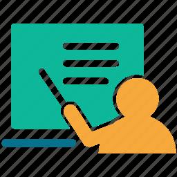 classroom, teach, teacher, teaching icon