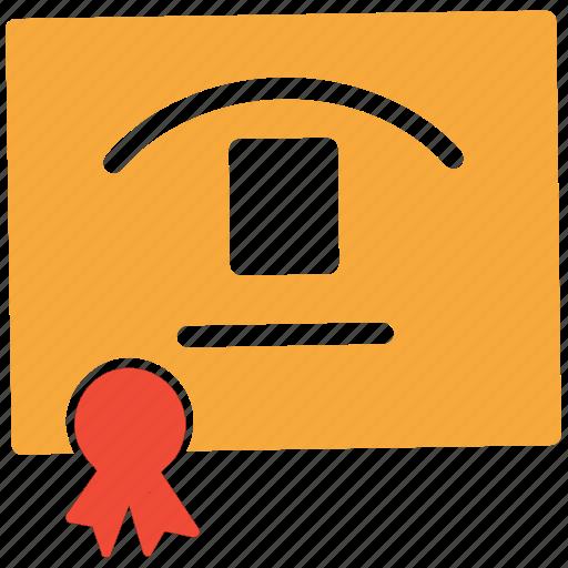 achievement, award, best, certificate icon