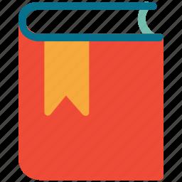 book, bookmark, reading, study icon