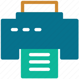 copier, fax, printer, printing machine icon