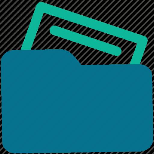 document, file, file folder, folder icon