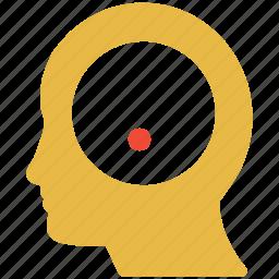 brain, idea, mind, thinking icon