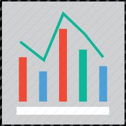 bar, graph, report, statistics icon