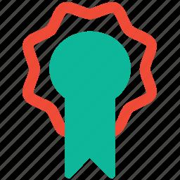 award, award badge, badge, medal of honor icon