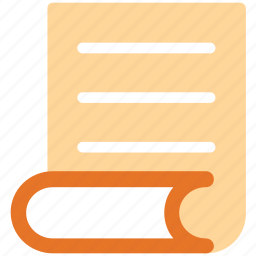 document, page, paper, sheet icon