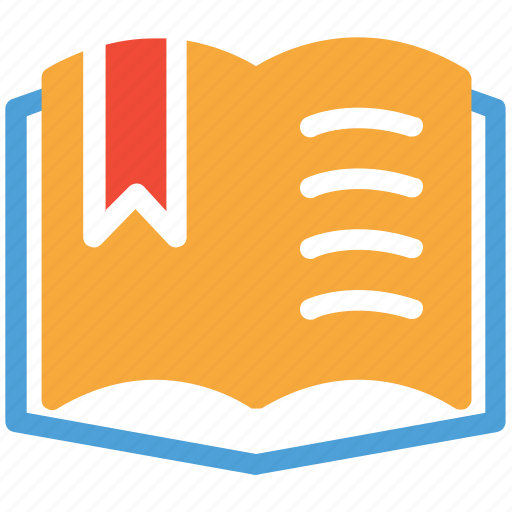 book, bookmark, favorite lesson, favorite topic icon