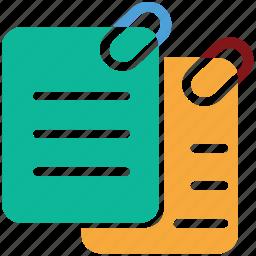 attach files, attachment, clip files, documents icon