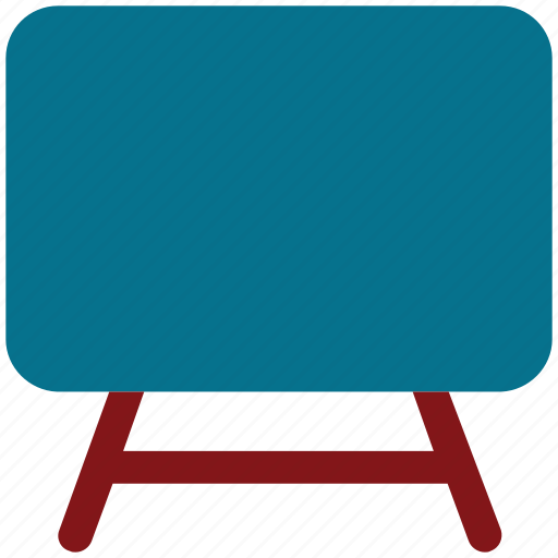 board, presentation, writing board, writing chalk board icon