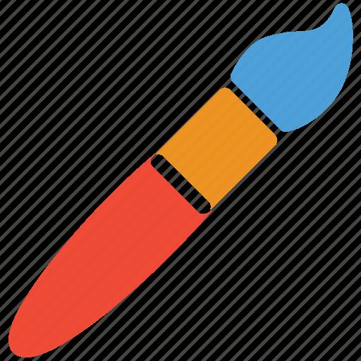art tool, paint brush, painting brush, painting tool icon
