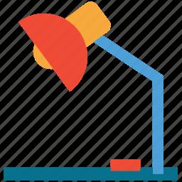 bulb, desk lamp, lamp, light icon