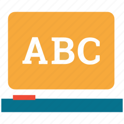 abc, alphabets, capital abc, letters icon